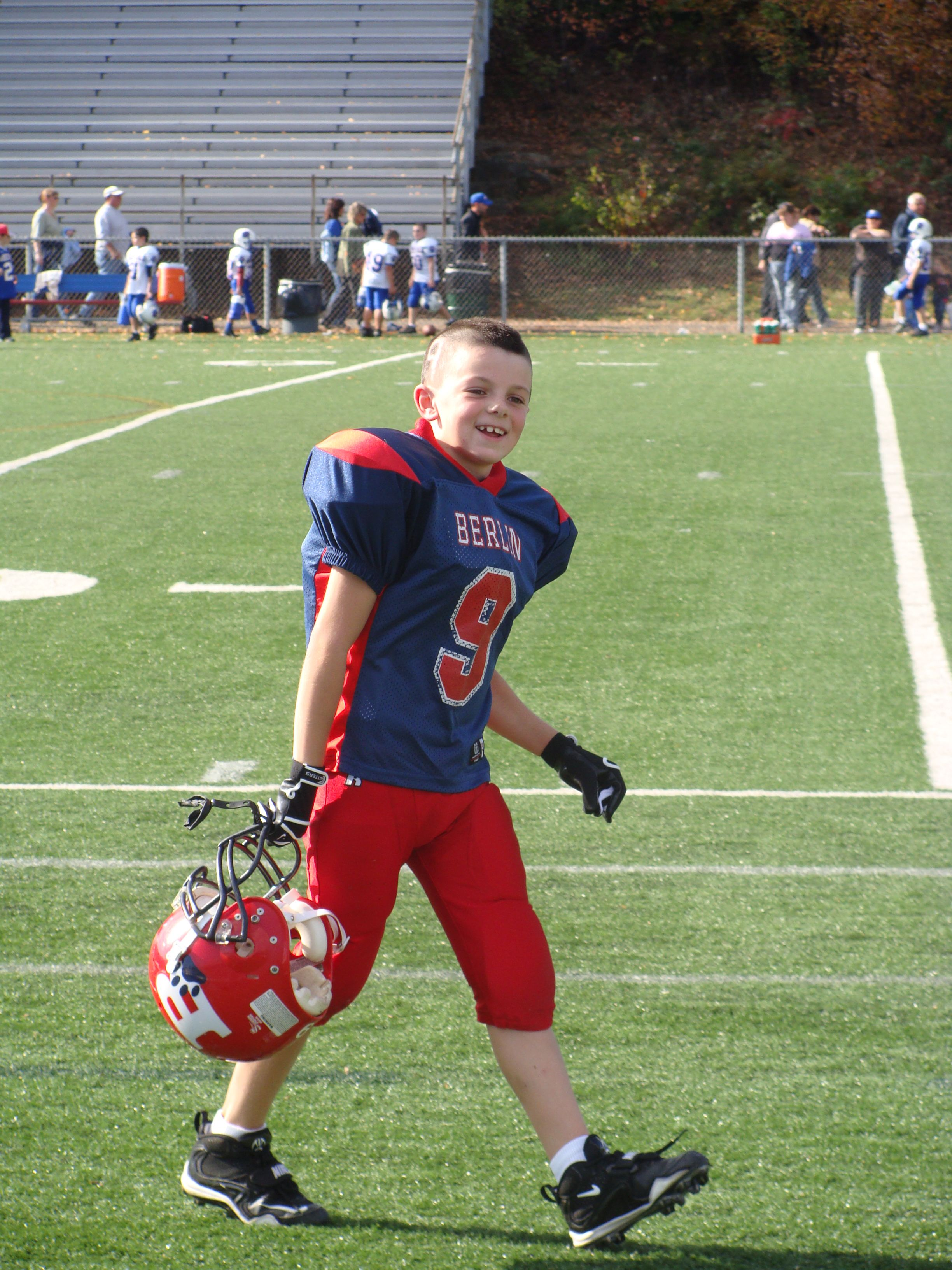 A boys guide to starting youth football youth football