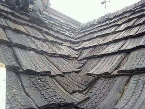 Best Recycled Roof I Have Seen So Far Building