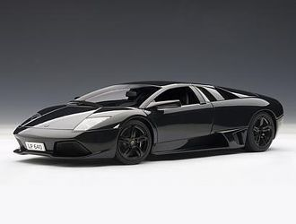 This Lamborghini Murcielago Lp640 2006 Diecast Model Car Is