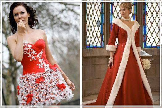 Santa Wedding Dress