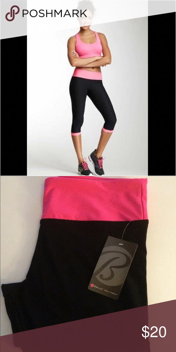 2de48c74cc6d90 Yoga pants Yoga pants. New!! Bally Total Fitness Pants #yogapants ...