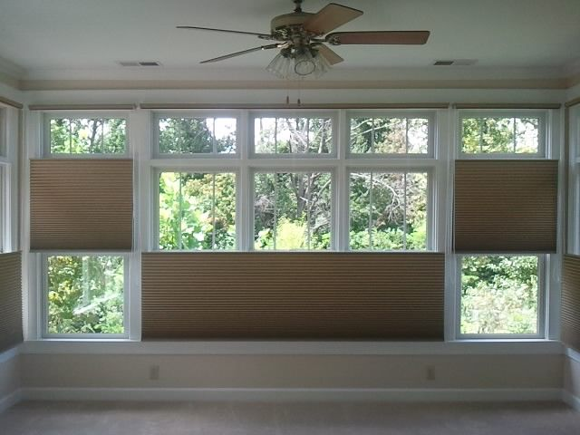 Hunter Douglas Top Down Bottom Up Duette Cellular Shades