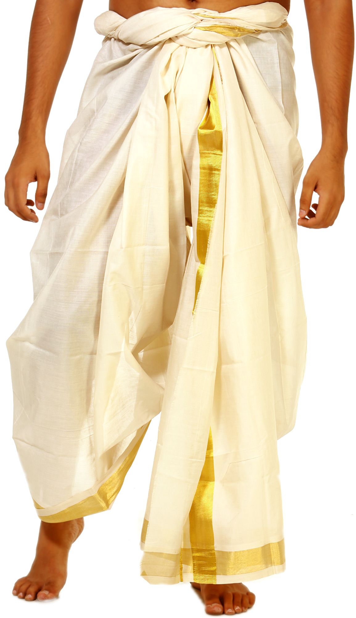 Panche Per Fast Food.Traditional Attire Of Men In India India Clothes Dhoti Indian