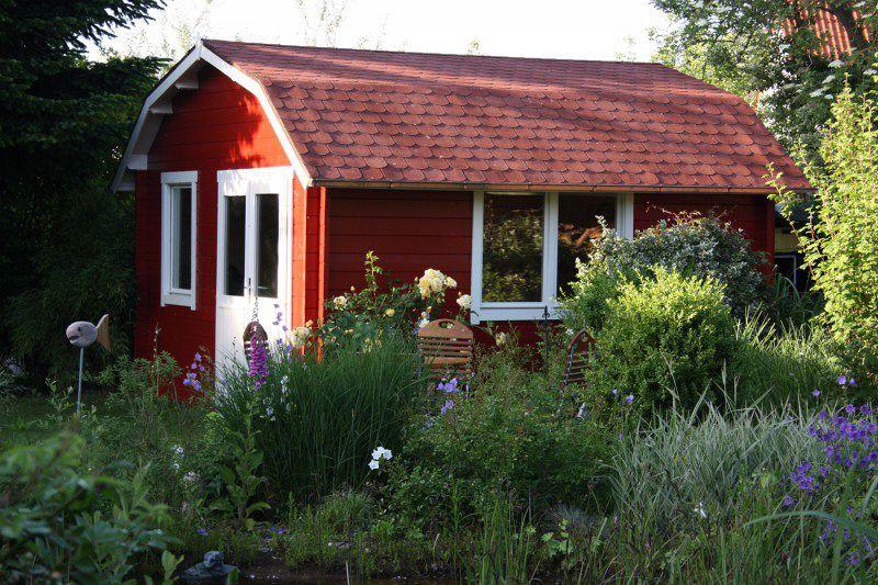 Skandinavisches Gartenhaus schwedisches gartenhaus maritime impressionen innen garten