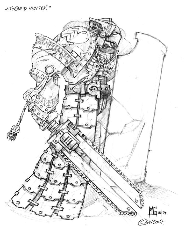 Mg Artworks Tyrannic War Veteran Concepts