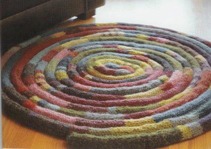diy tapis tricotin tricot et crochet