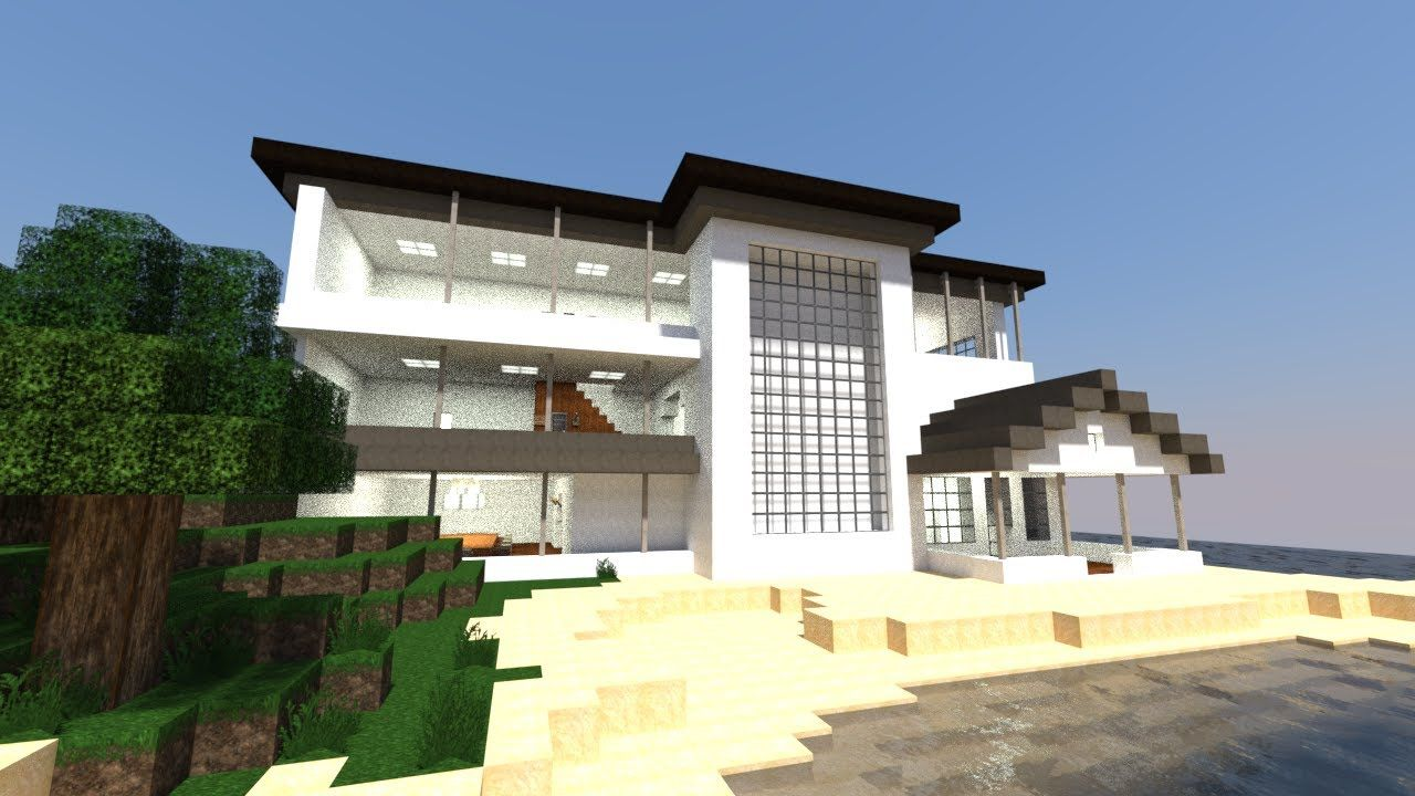 minecraft modern house hd wallpapers download free minecraft modern house tumblr pinterest hd wallpapers