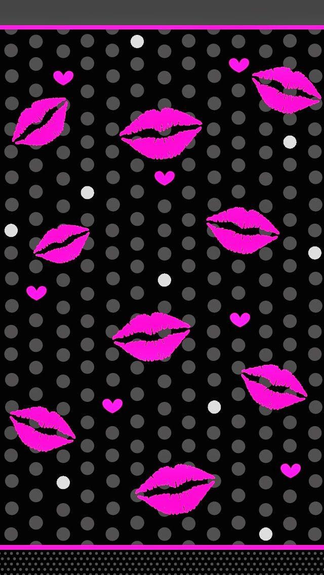 Pretty wallpaper kisses lips pretty wallpapers lip - Pink lips wallpaper ...