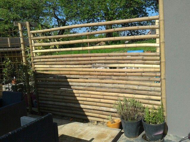 Palissade En Bambou Palissade Amenagement Exterieur Bambou