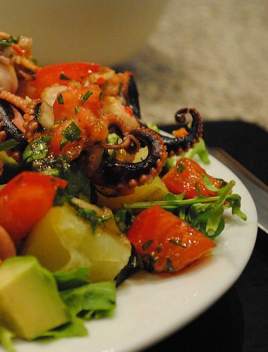The third of 4 Greek recipes may not suit every reader, but read on - even without the octopus, this would be a great salad. I had actually ...