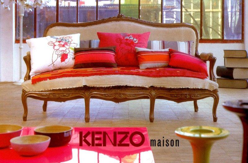 Kenzo Maison | HOME /// Living room | Pinterest | Kenzo, Living ...