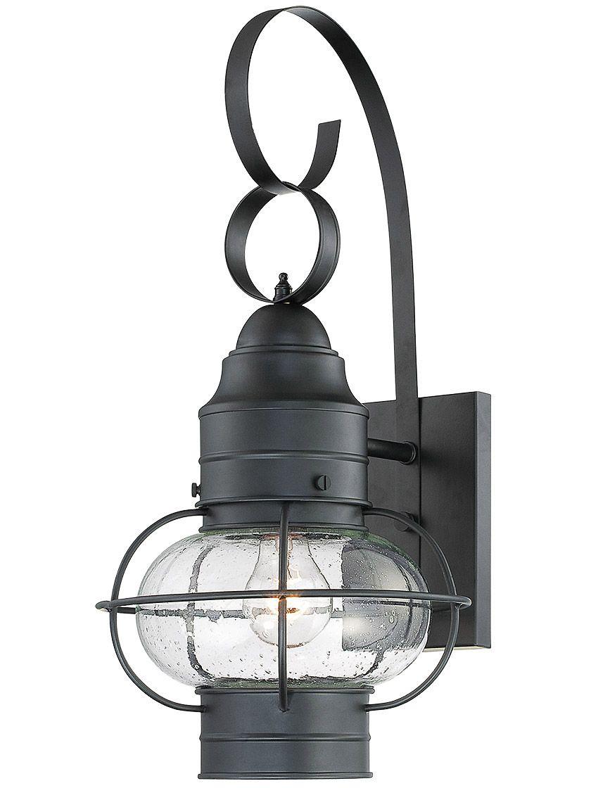 Cooper Medium Outdoor Light In Mystic Black House Of Antique Hardware Outdoor Sconces Outdoor Wall Lantern Outdoor Light Fixtures