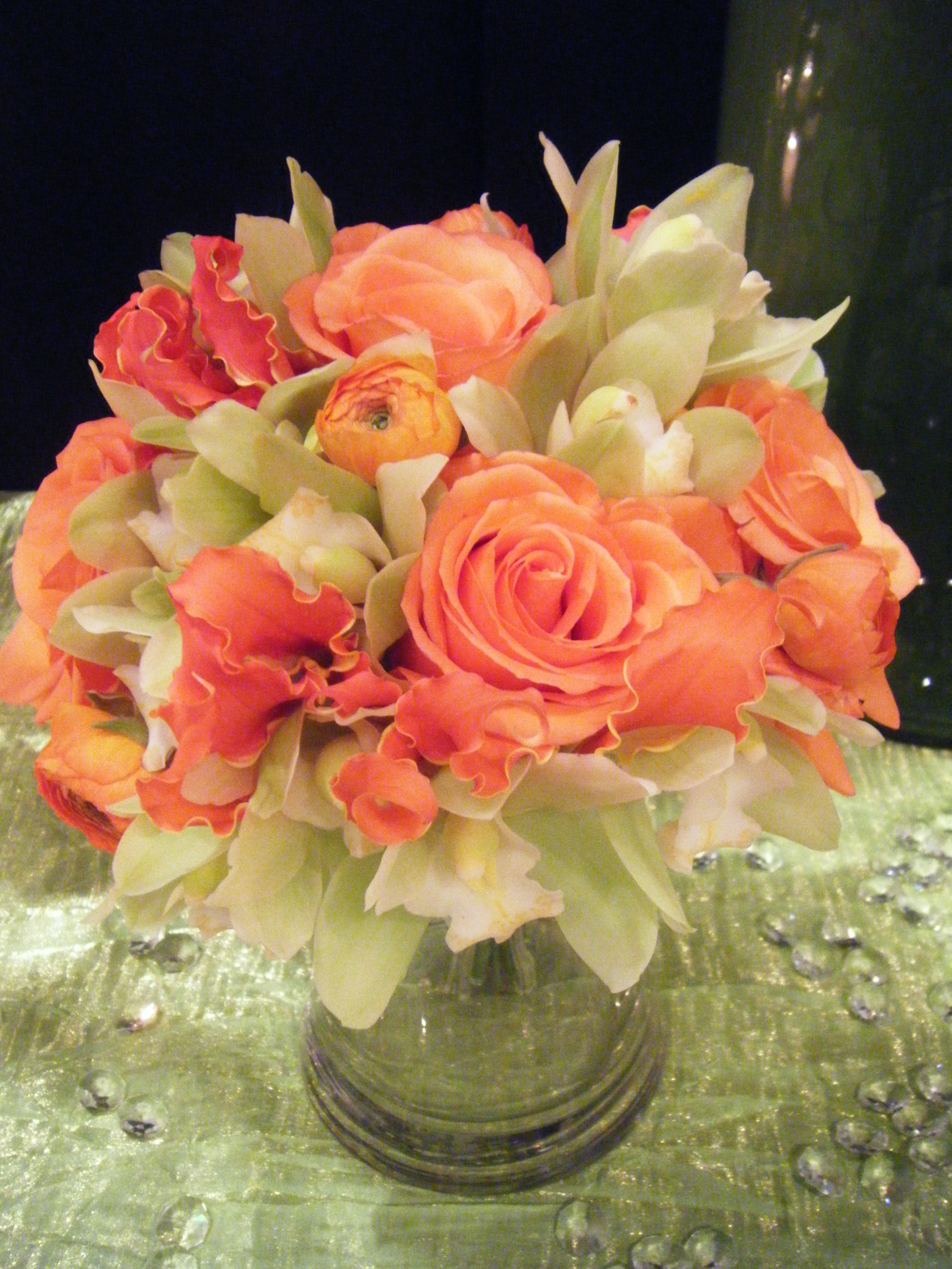 Apricot And Green Flowers Tiger Lily Florist Charleston And