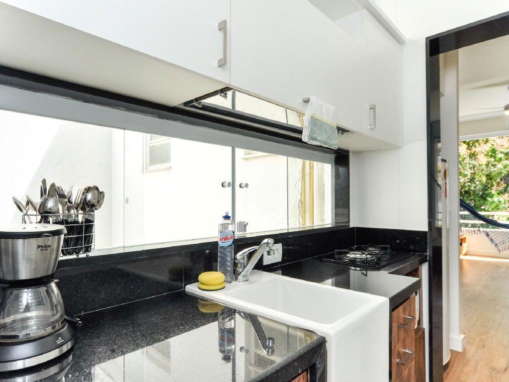 Apartamento Temporada em Ipanema: Apartamento 40m da Praia do Arpoador / Ipanema, Silencioso, Vista Verde
