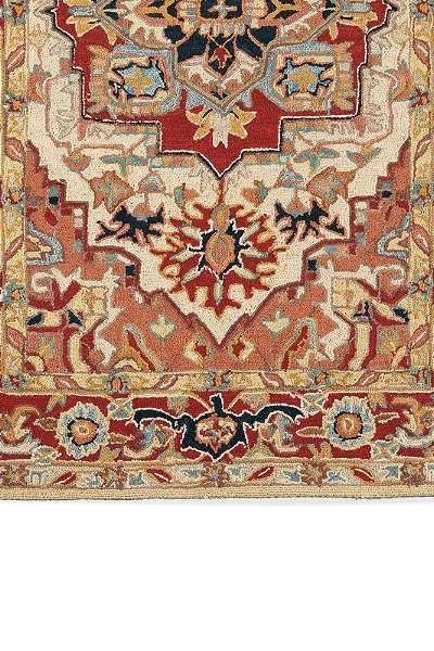 Phoenix Hand Hooked Wool Area Rugs Living Room Wool