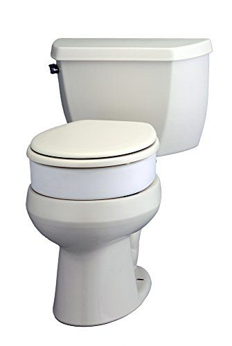 Nova Medical Products 8346 Toilet Seat Riser Hinged Elongated 3