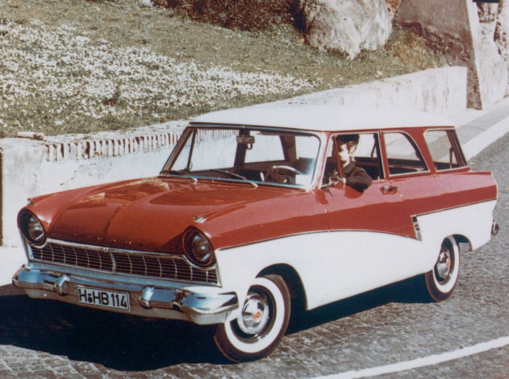 Ford Taunus 17m Kombi P2 1957 60 Ford Kombi Oldtimer