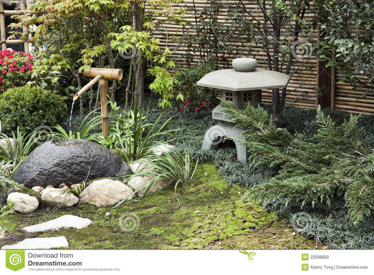 Japanese garden fountain google search japanese garden for Japanese garden features