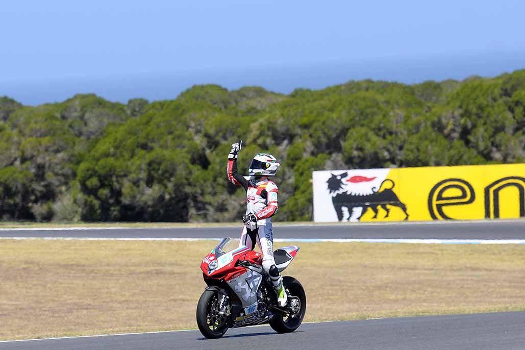 MV Agusta win Phillip Island Supersport Race - http://superbike-news.co.uk/Motorcycle-News/world-supersport-phillip-island-race-result/