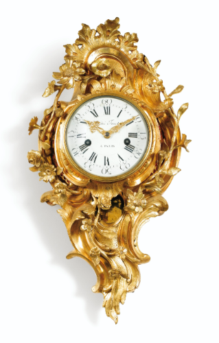 Date Unspecified A GILT BRONZE BRACKET CLOCK LOUIS XV THE DIAL AND