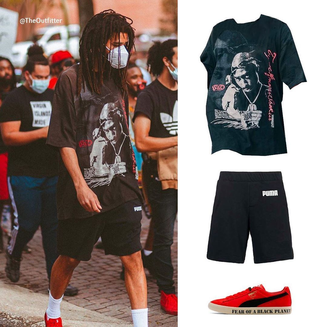 The Outfitter On Instagram J Cole Joins The Protest In Fayetteville Nc Black Planet Cole Women