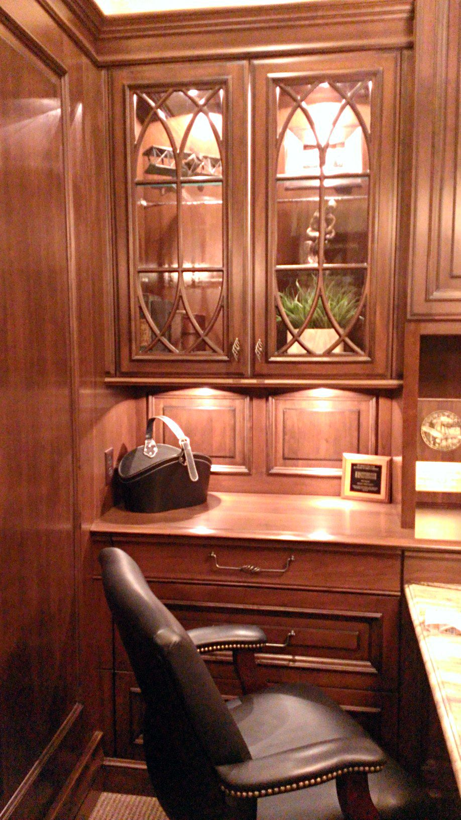 Custom Office Cabinet Design | Kenwood Kitchens in Lutherville, Mar ...