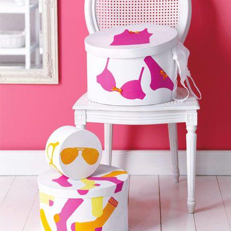DIY mit Farbe und Schablone: Wir kreieren kleine Kunstwerke!