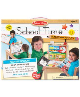 Melissa and Doug Kids' School Time! Classroom Play Set - Toys & Games - Kids & Baby - Macy's