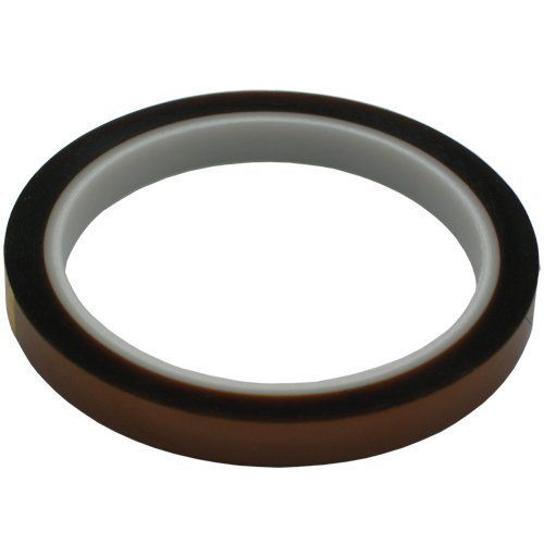 Heat Resistant Tape / Polyimide Tape - 10mm x 33 Meter Roll