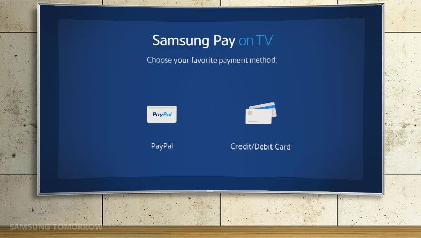 Samsung Pay on TV lets you buy movies, games and apps but