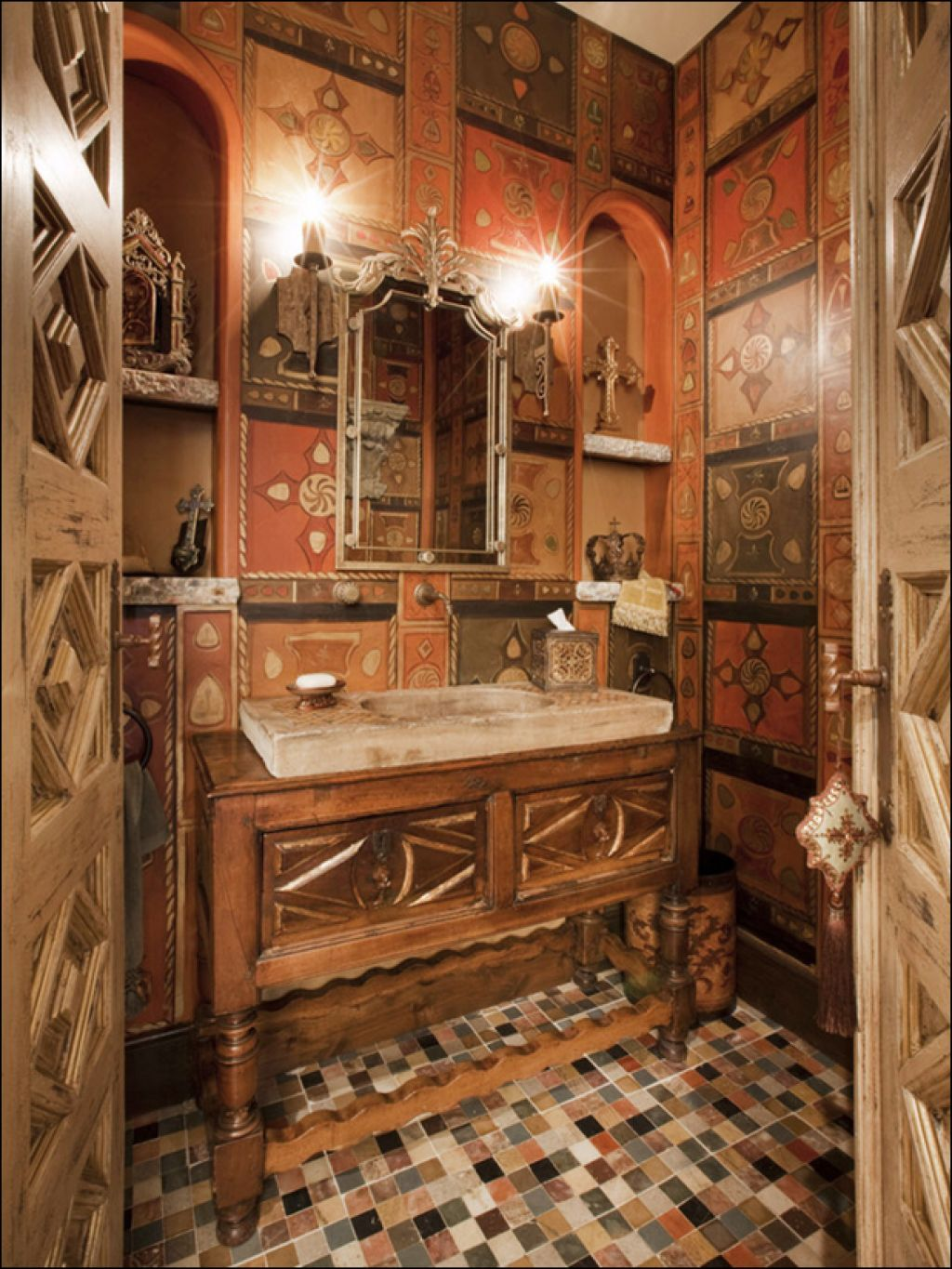 old world bathrooms |  old world decorating ideas : old world
