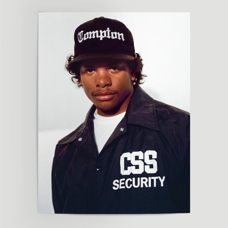 Eazy E Poster Give Your Walls A Facelift And Decorate With Trendy Posters We Carry A Wide Selection To Complement E Gangsta Rapper Hip Hop Culture Gangsta Rap