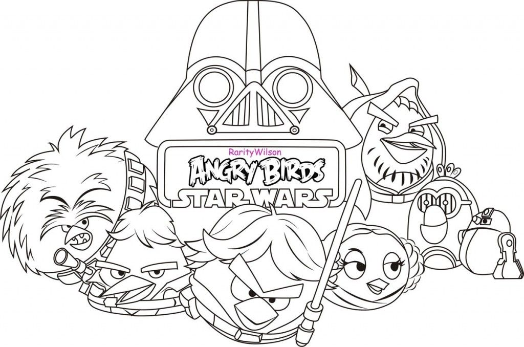 Angry Bird Star Wars, Lego Star Wars Coloring Page | Coloring pages ...