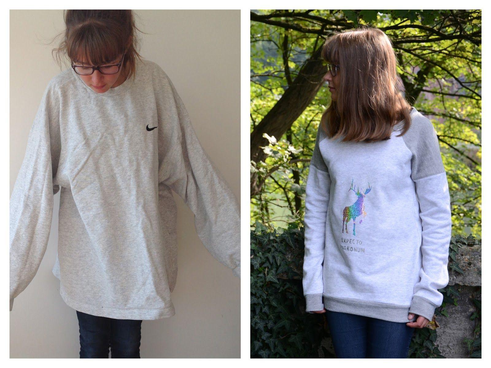 Refashion: oversized sweater wordt Harry Potter trui.   Villa Lisa ...