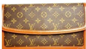 887cc7980e49 Louis Vuitton Auth Pre-owned Pochette Dame Gm M51810 Monogram Clutch  641