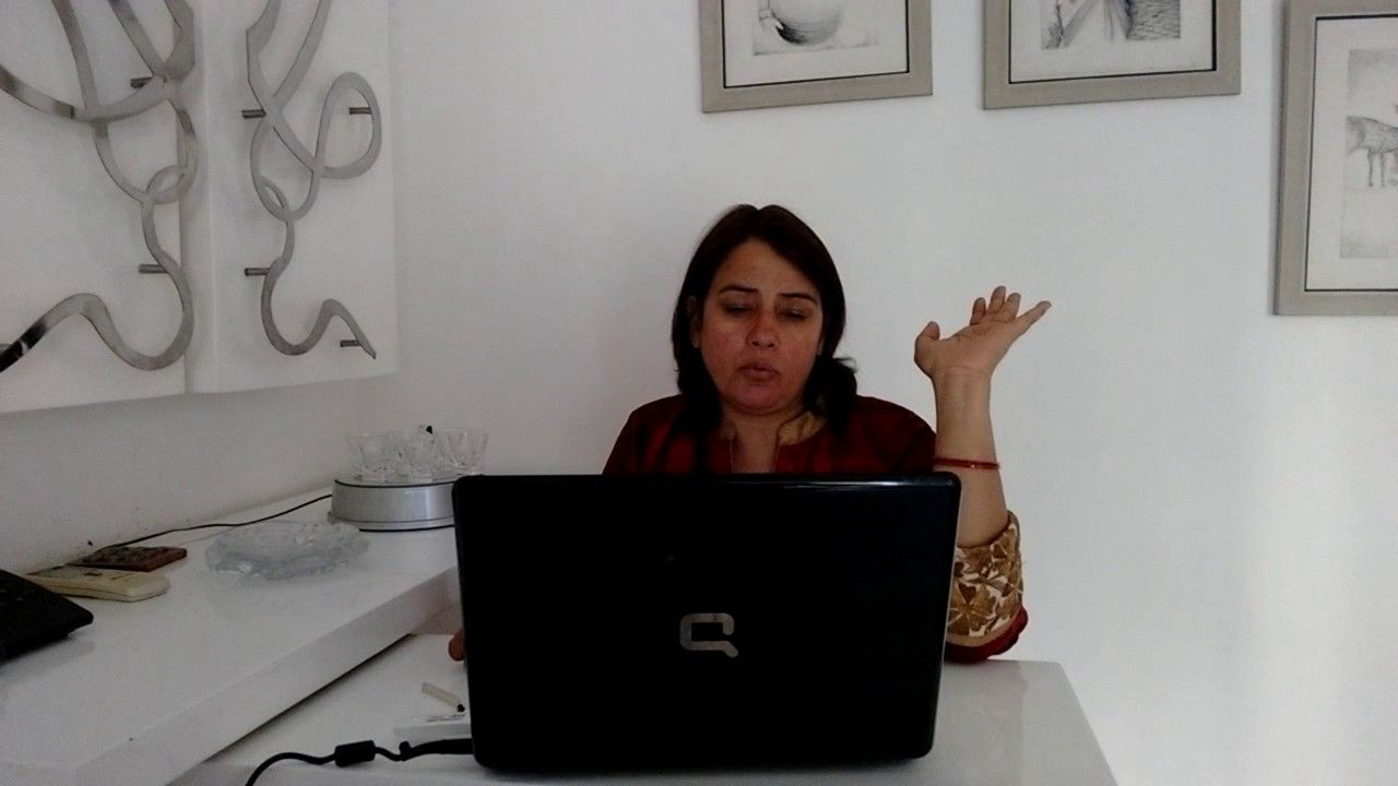 Dr. Manju Jain   Research scholar, Spiritual healer, Jain
