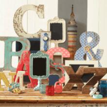 make market alphabet soup shop our new eclectic surfaces letters