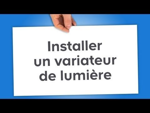 Installer Un Variateur De Lumiere Castorama Tech Company Logos Search Video Novelty Sign