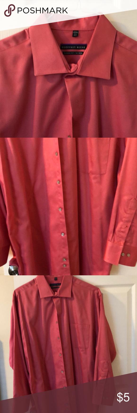 Deep Salmon Dress Shirt My Posh Closet Pinterest Shirt