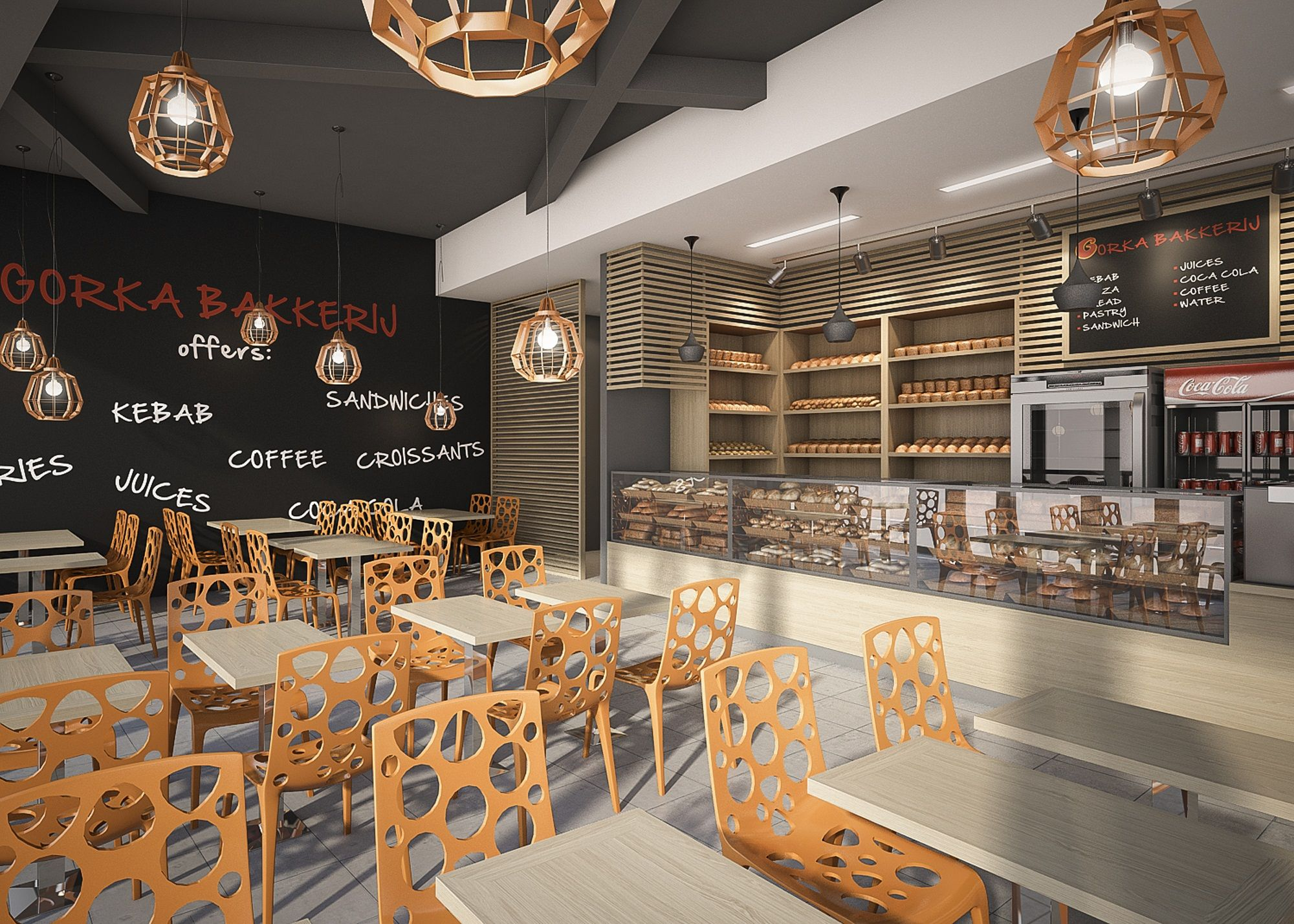 quick service restaurant design - Google Search ...
