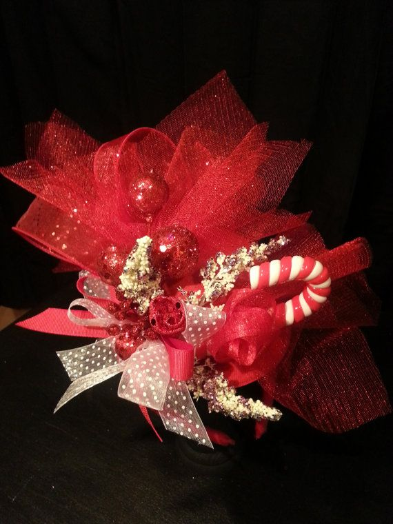 Christmas Fascinator Hat by tHATsFascinatingbyDC on Etsy  345bf5e816a