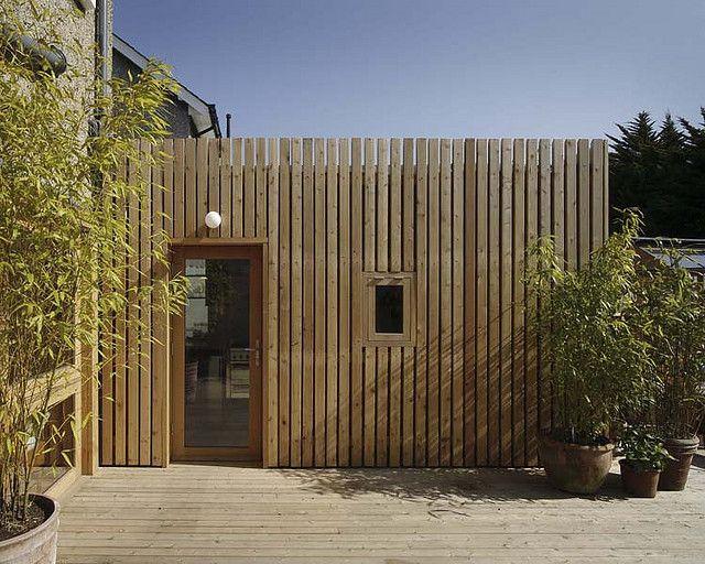 009 Side Elevation Wooden Cladding Exterior Cedar Cladding Larch Cladding