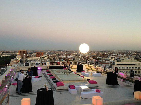 View From The Rooftop Terrace Fotografia De Circulo De Bellas Artes Madrid Terrazas Madrid Circulo De Bellas Artes Viajar Por Espana