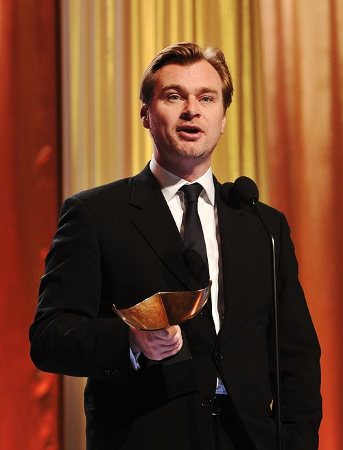 """I think film is first and foremost entertainment. But, all forms of entertainment throughout history have always produced works that last and transcend the concept of entertainment."" - Christopher Nolan"