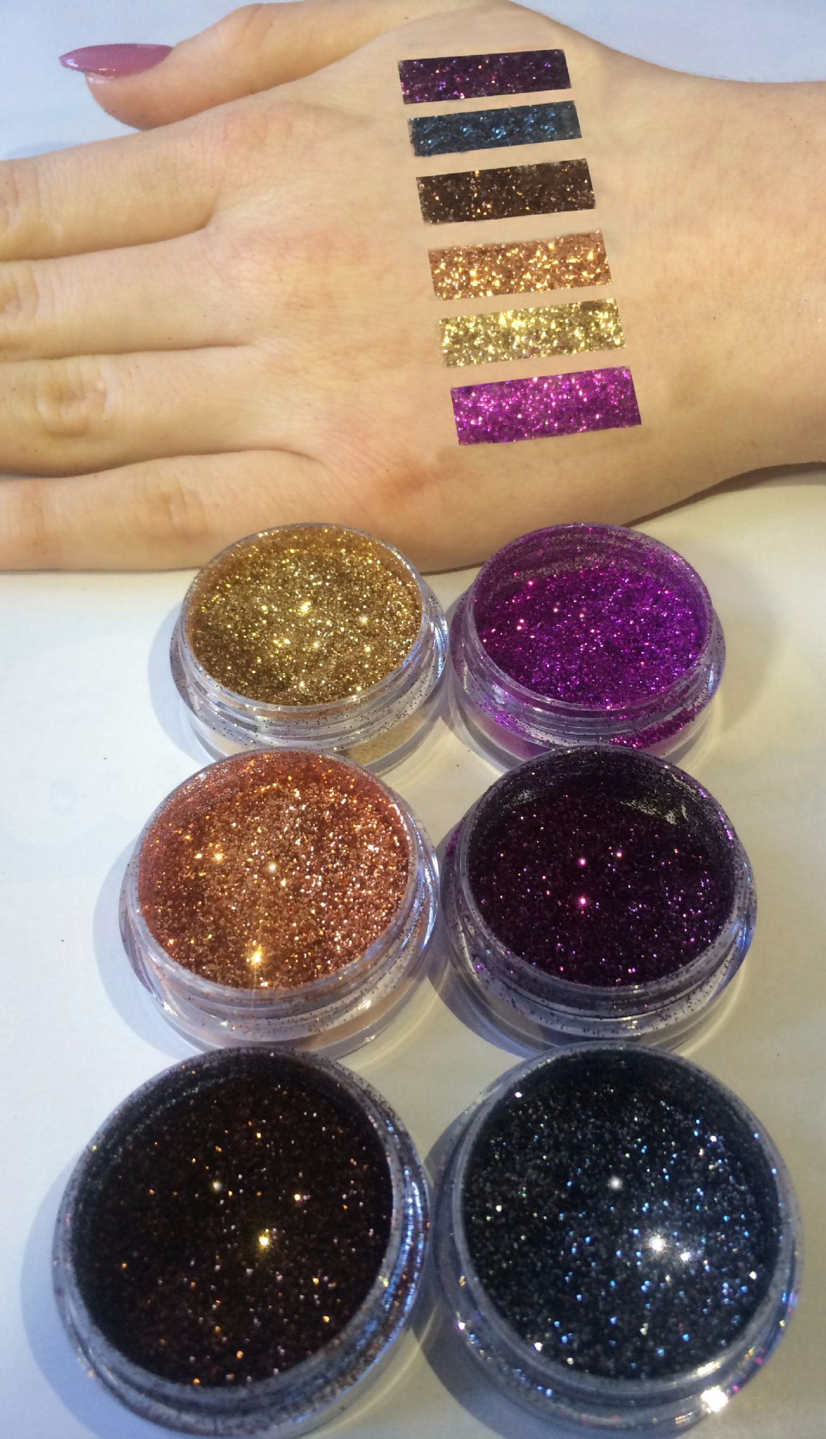 xMake up Artists Limited Edition Glitter set (includes