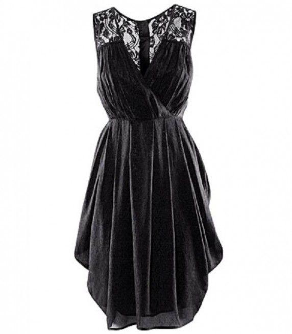H M Divided Czarna Sukienka Koronka Tulipan M 6633260842 Oficjalne Archiwum Allegro Dresses Halter Formal Dress Little Black Dress