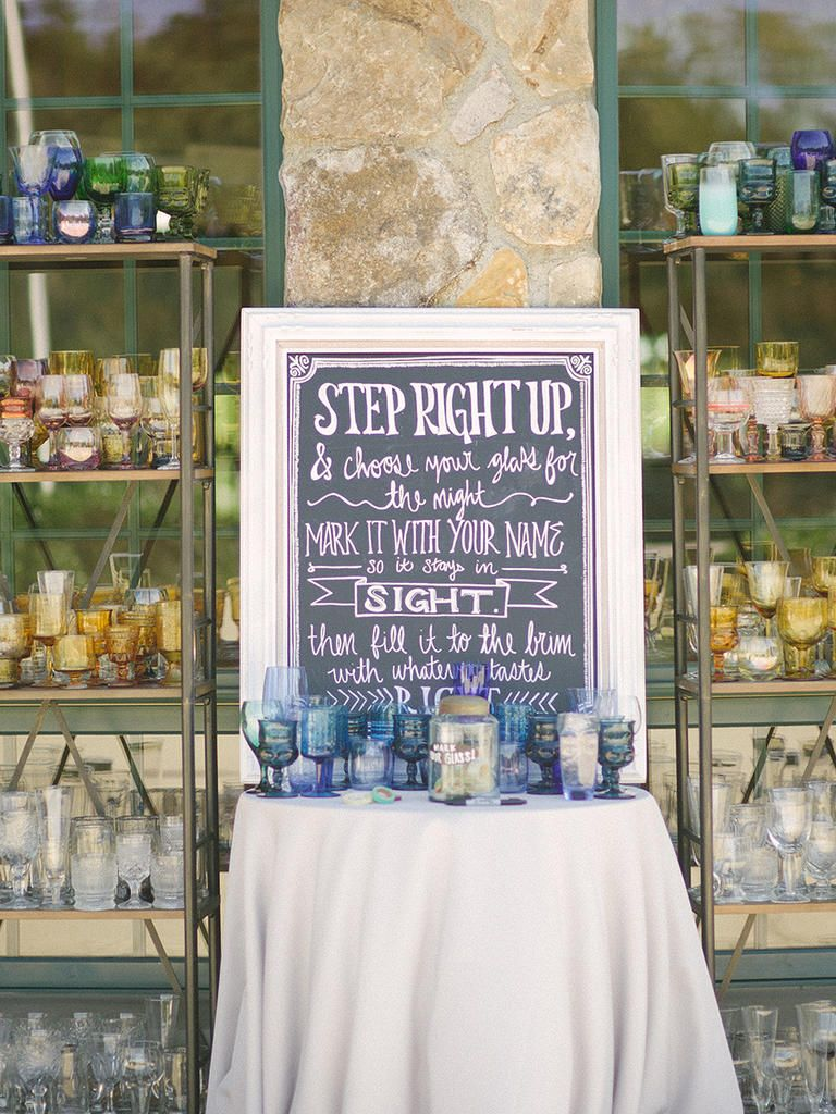 Creative Sign Ideas For Your Wedding Reception Bar – Part III photo