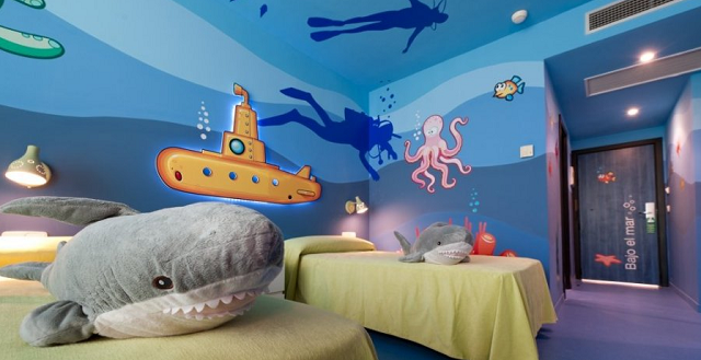 Hotel familiar en huelva con habitaciones tem ticas para - Habitaciones infantiles tematicas ...