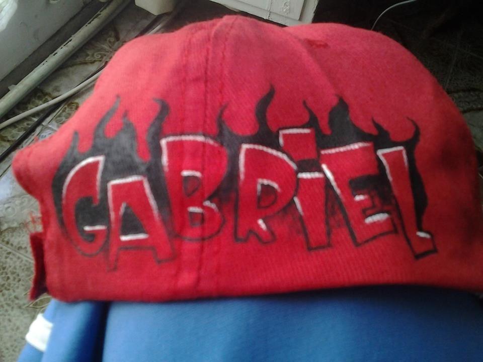 """Kids Cap """"Gabriel""""""""Camioncito de Bomberos"""""""