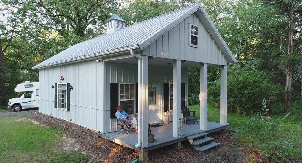 Morton Buildings use clear-span construction to offer open floor ...